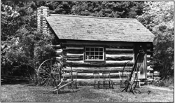 David Fife's homestead house has been preserved at the Lang Pioneer Village, and is likely representative of the house Joseph began his life in.
